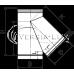 Тройник 45º из нержавеющей стали: толщина стенки - 0,6 мм; Ø от 100 до 300 мм